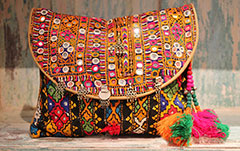 Vintage Indian Clutch Bag from Opium