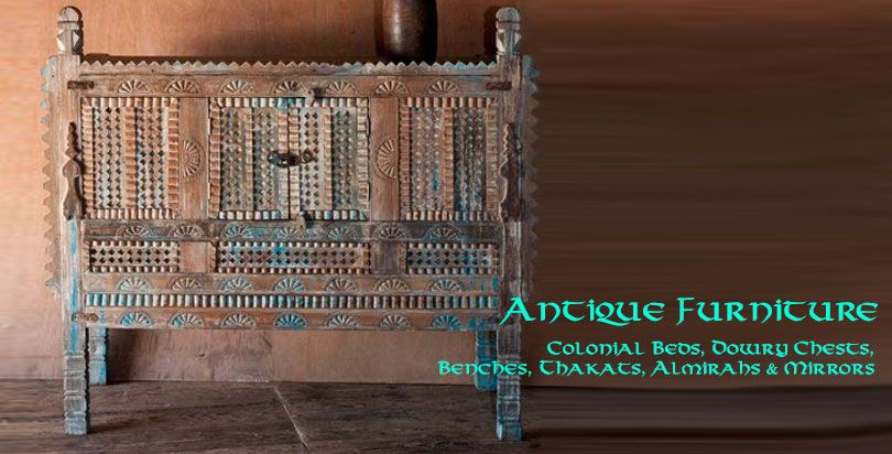 Opium Antique Furniture from India