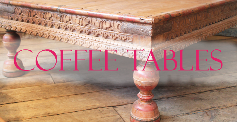 Indian Coffee Tables From Opium