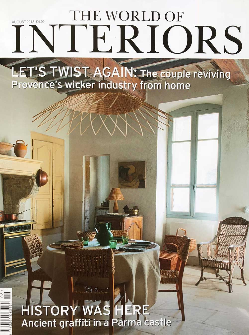 World of Interiors magazine cover
