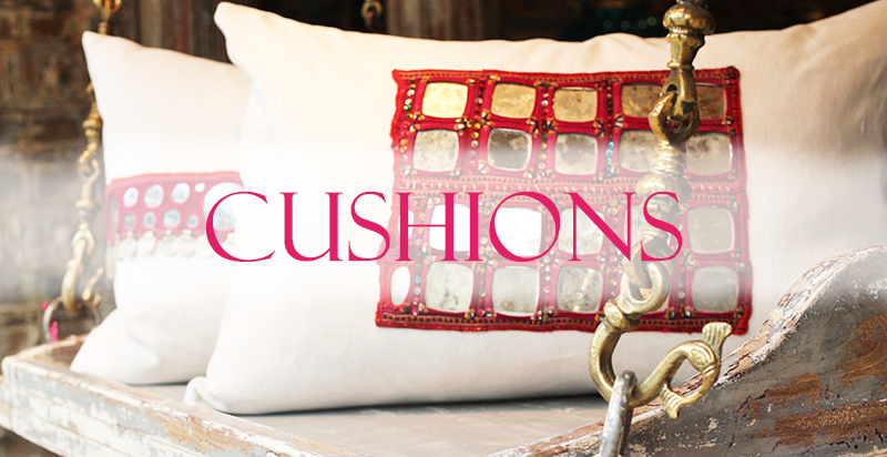 Indian Cushions from Opium