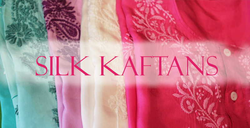 Indian Silk Kaftans and Chemises from Opium